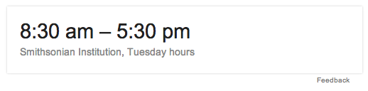 answer box knowledge graph opening hours | i&i travel media