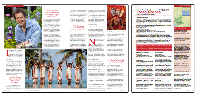 compass magazine - branded publishing case study travel industry